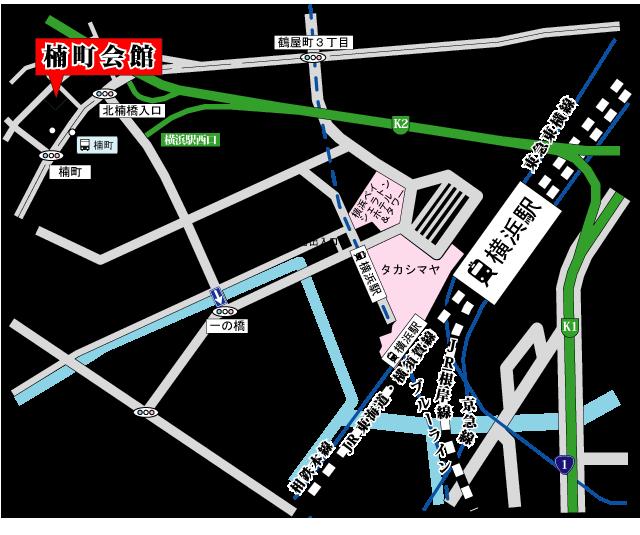 勧行寺楠町会館アクセス地図